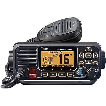 Icom M330G 31 Compact Basic VHF with GPS, 4.3 lbs