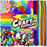 Carl & Kay Arts & Crafts Supplies for Kids Crafts - Kids Craft Supplies & Materials - Kids Art Supplies for Kids - Arts and Crafts Kit for Kids Craft Kits - Toddler Crafts for Kids Craft Set