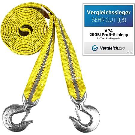 Apa 26051 Abschleppseil Profi Schlepp Bis 6 000 Kg Auto