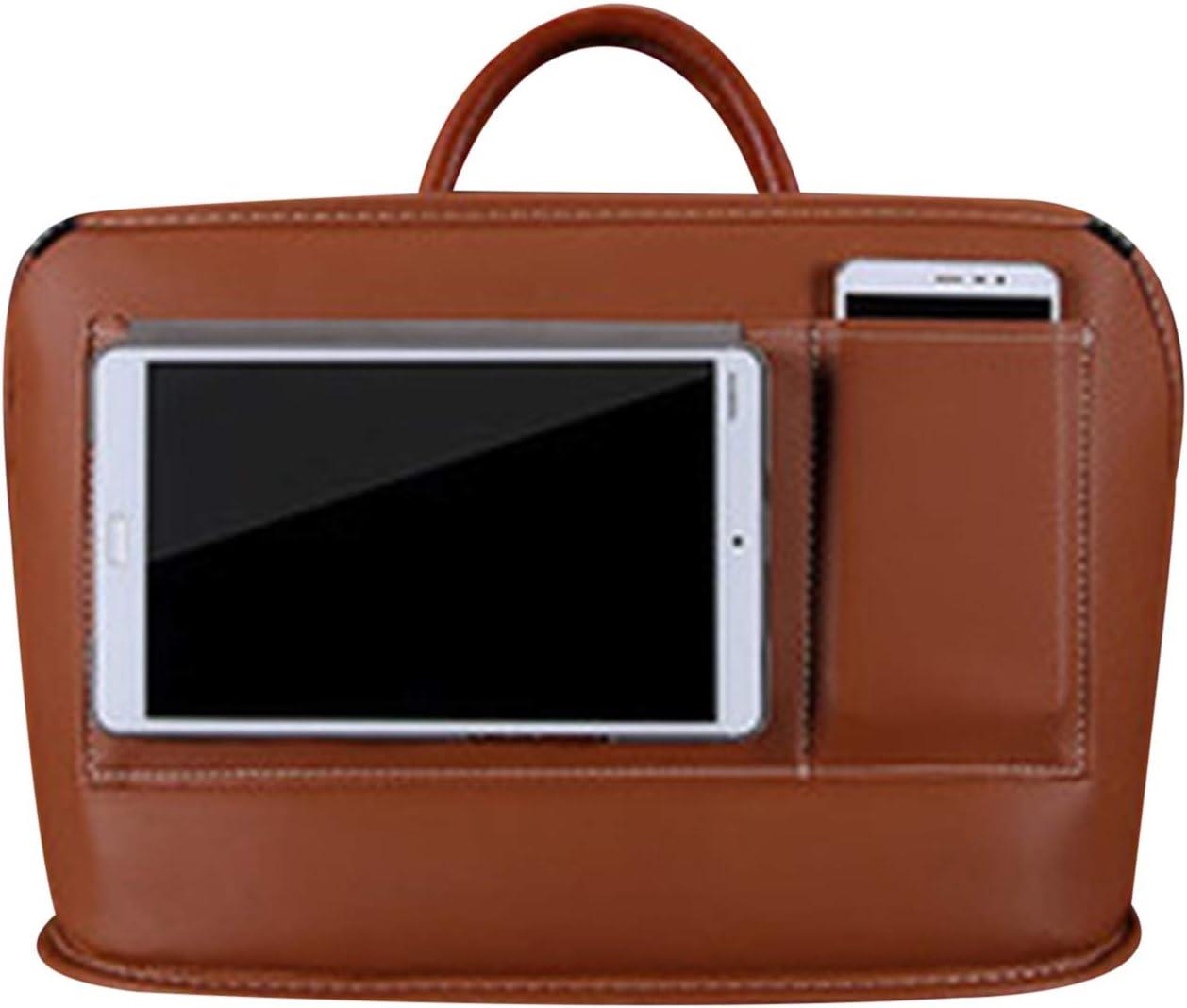 Scucs Leder Car Net Pocket Handtaschenhalter Multifunktions-Aufbewahrungstasche mit gro/ßer Kapazit/ät