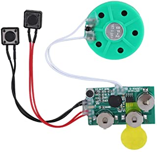 fosa 4 Minutes DIY Greeting Card Chip Music Sound Voice Recording Module Device Chip Recordable Sound Chip for Christmas C...