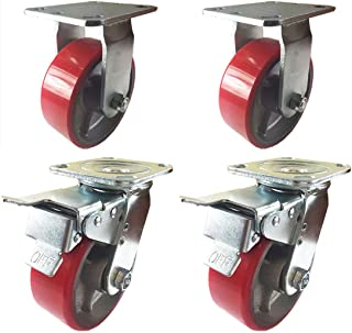 926c9d96f Amazon.com: Rigid - Casters / Material Handling Products: Industrial ...