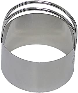 """R&M International 1743 Stainless Steel 2-3/4"""" Round Biscuit Cutter with Handle, 1-Piece"""