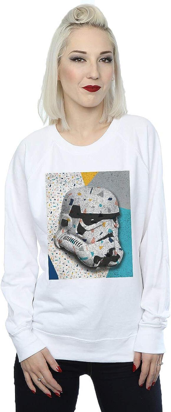 Star Wars Women's Cheap Selling SALE Start Stormtrooper Pattern Helmet Sweatshirt