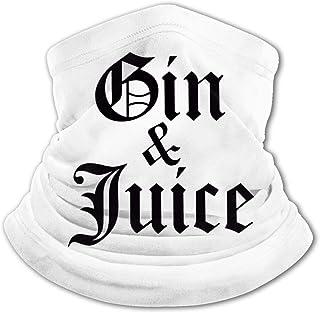 Gin & Juice - Pasamontañas para el cuello con protección UV, resistente al viento, multifunción, para niños y niñas