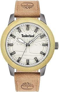 Timberland Homme Analogique Quartz Montre avec Bracelet en Cuir TBL15949JSUB.63SET