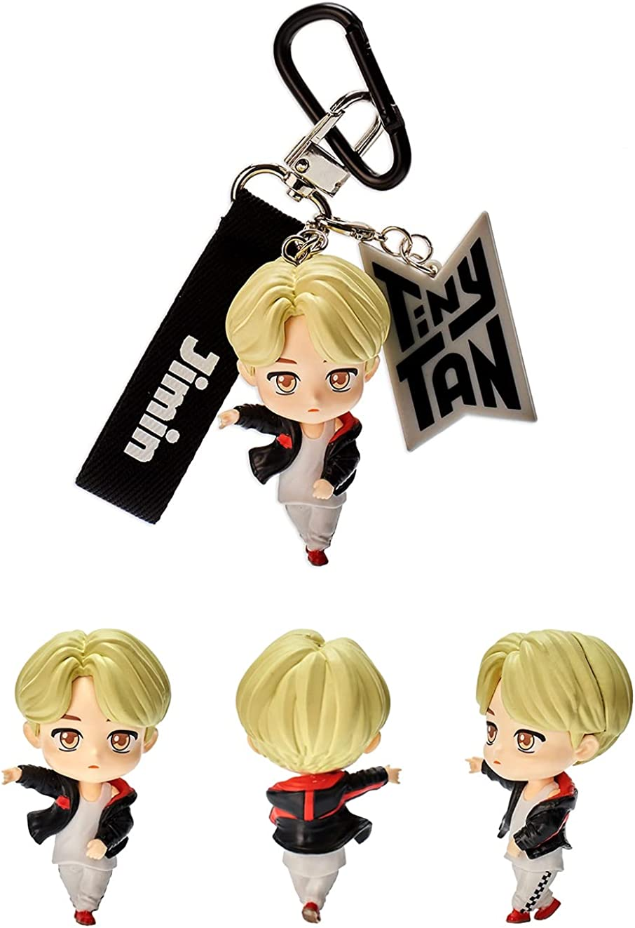 BTS Tinytan Figures Keychain Keyring Kpop Merchandise Bag Accessory Official Authentic Figurines