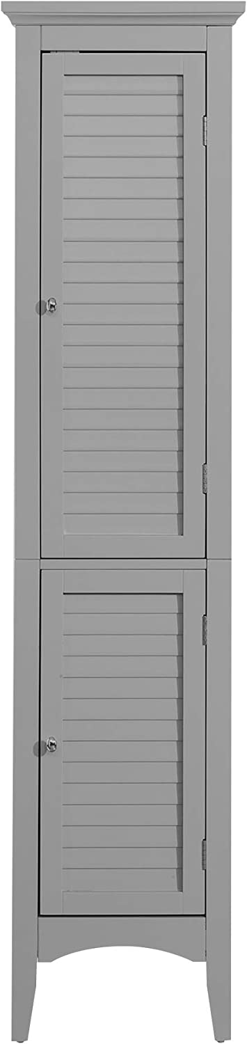 Elegant Manufacturer regenerated product Home Charlotte Mall Fashions TYG-62402 Glancy Linen Shutter Tower with