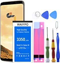 (Upgraded) Wavypo Galaxy S8 Battery, 3350mAh EB-BG950ABE Replacement Battery for Samsung Galaxy S8 SM-G950 G950V G950A G950T G950P G950R4 with Repair Toolkit [24 Months Warranty]