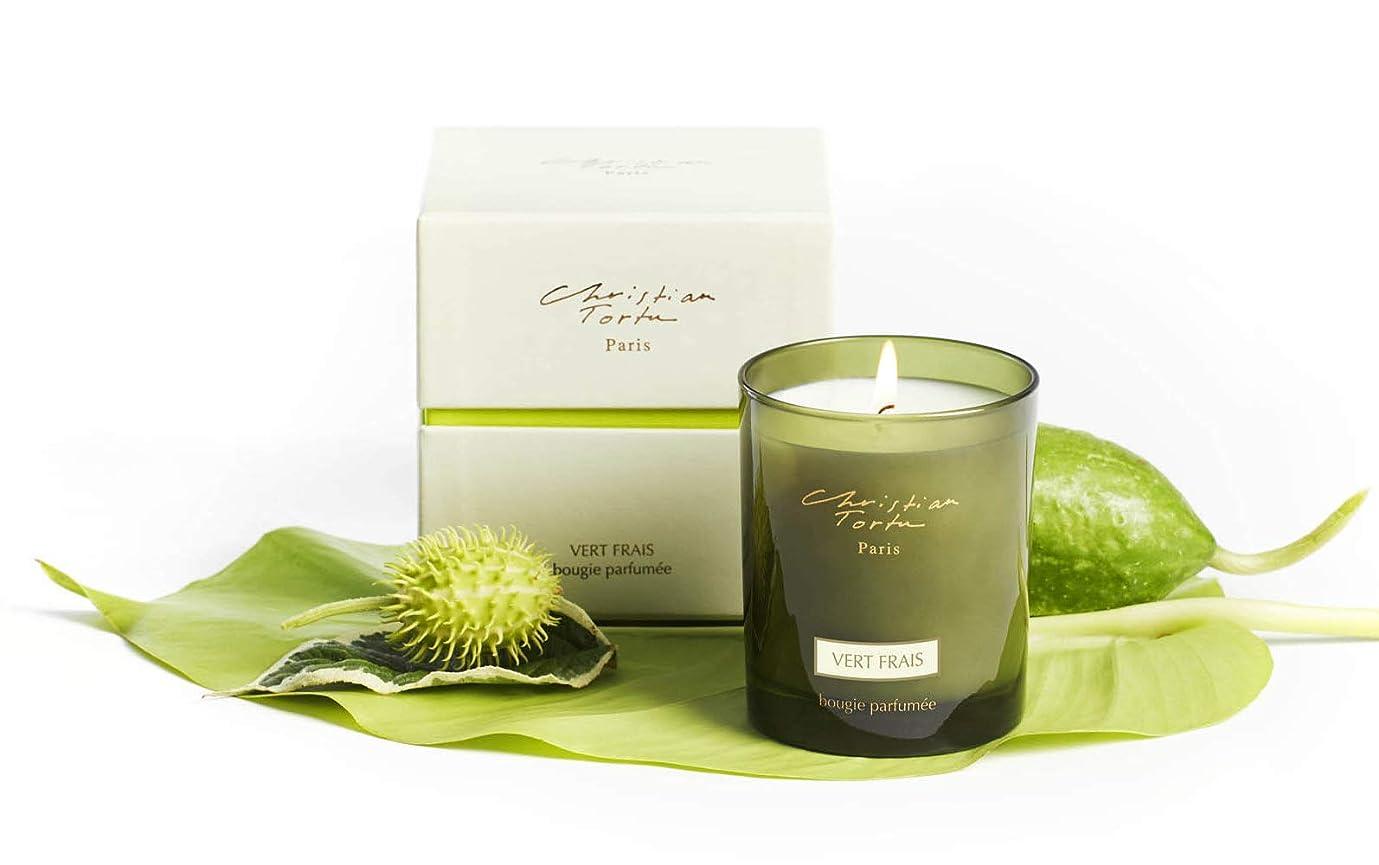 デッキ揮発性カプセルChristian Tortu Vert Frais (フレッシュグリーン) Candle