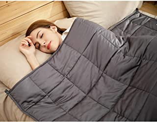 CuteKing Weighted Blanket, 80x87 inches 15lbs King Size, 100% Natural Bamboo Viscose Luxury Heavy Blanket, Silky Smooth, Skin Friendly