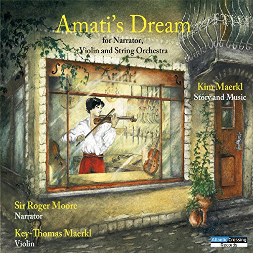 Amati's Dream audiobook cover art
