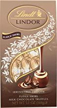 Lindt LINDOR Fudge Swirl Truffles, Kosher, 5.1 Ounce, Pack of 6