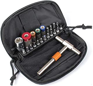 Fix It Sticks 65, 45, 25, 15 Inch Lbs Torque Limiter Kit with 16 Bit Drivers in Zippered Deluxe Case