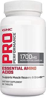 GNC Pro Performance Essential Amino Acids 60 Tablets
