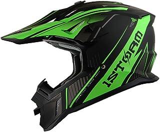 Capacete de Motocross Adulto 1Storm BMX MX ATV Dirt Bike Downhill Mountain Bike Capacete de corrida H637