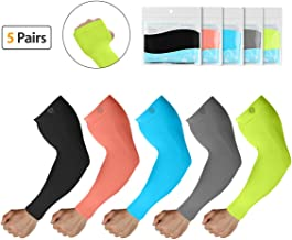 SHINYMOD Arm Sleeves for Men Women, UV Protection SPF Cooling Sleeves to Cover arm for Golf Driving Running Cycling Fishing Sports & Tattoo Cover
