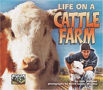 Life on a Cattle Farm (Life on a Farm) 1575055163 Book Cover