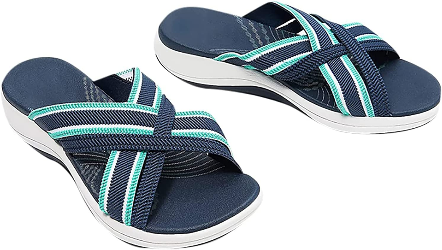 FURPO Product up-Gradation-Stretch Cross Orthotic Slide Sandals Suitable for Women