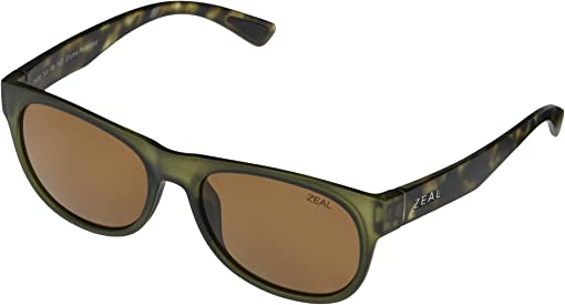 Matte Khaki/Polarized Copped Lens