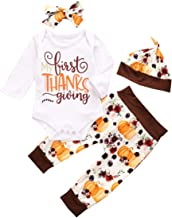 6-12 Months, Brown Janly Baby Romper for 0-24 Months Newborn Thanksgiving Day Jumpsuit Baby Boy Girl Turkey Print Bodysuit Infant Winter Clothes Outfits