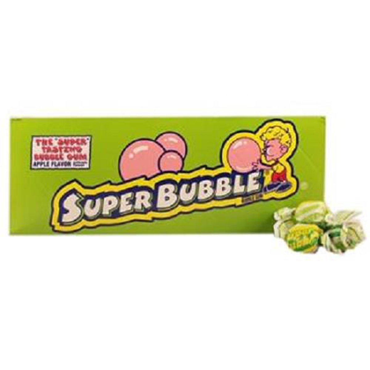 Product Of Super Bubble, Bubble Gum Apple, Count 300 - Gum / Grab Varieties & Flavors