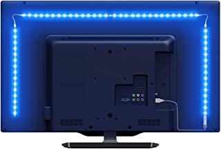 LE LED Strip Lights for TV, 6.56Ft RGB Color Changing TV Backlights with Remote, USB Powered Bias Lighting for 32-65 Inch ...