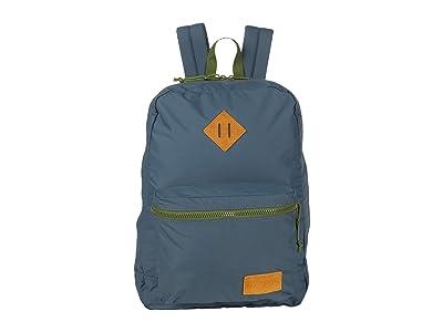 JanSport Super Lite (Dark Slate/New Olive) Backpack Bags