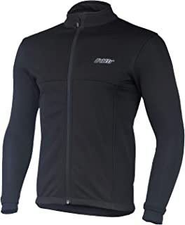 bpbtti Men's Softshell Cycling Thermal Jacket Windbreaker Coat for Winter – Windproof, Breathable and Reflective