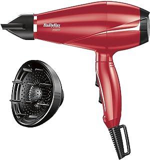 مجفف الشعر 2000 وات من بايبيليس 6604RPE، احمر