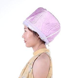 Vaporizador de pelo Gorro de calor térmico Acondicionamiento profundo Cabello negro natural Tratamiento del cuero cabelludo Spa Cuidado de la cabeza caliente Calefacción eléctrica (yo)