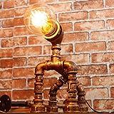 Lámparas de Escritorio Lámparas de Mesa y Mesilla LOFT lámpara de hierro feng shui industrial, lámpara de cabecera ajustable retro, cafetería lámpara de decoración de bar E27 Iluminación de interior