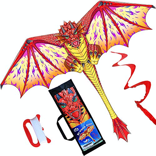 HONBO Dragon Kite for Kids and A...