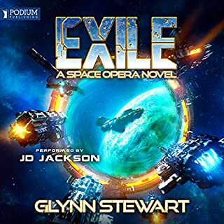 Exile                   By:                                                                                                                                 Glynn Stewart                               Narrated by:                                                                                                                                 JD Jackson                      Length: 10 hrs and 49 mins     173 ratings     Overall 4.7