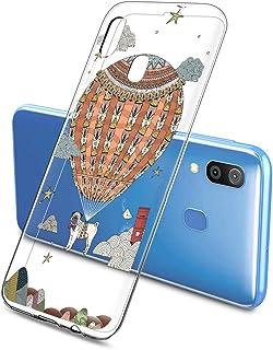 Oihxse Funda Dibujos Animal Lindo Compatible Samsung Galaxy Caballos Carcasa Transparente Clear Silicona TPU Gel Suave Cas...