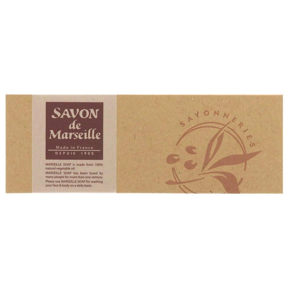 消化トランザクション平らなサボンドマルセイユ無香料ギフトセット3個入り