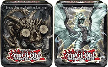 Yugioh 2013 Wave 2 CT10 Collector Tin Set Tempest & Redox, Dragon Ruler of Storms & Boulders Sealed