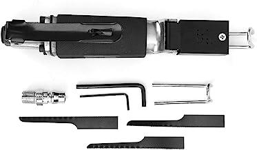 Kits de sierra recíproca, con llave, hoja de sierra 3 piezas hojas de sierra herramienta neumática sierra neumática neumática, herramienta de corte para chapa de aluminio