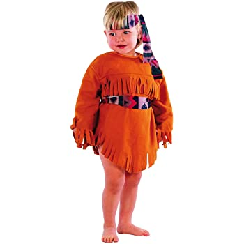 El Carnaval Disfraz India Bebe niña 2-4 años: Amazon.es: Juguetes ...