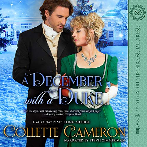 A December with a Duke: A Regency Romance audiobook cover art