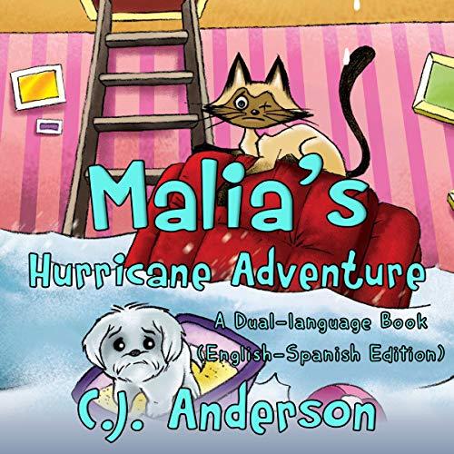 Malia's Hurricane Adventure audiobook cover art