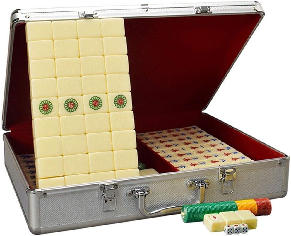 Max 49% OFF XYWCHK Louisville-Jefferson County Mall Mahjong American Game Set Tile E Board Games