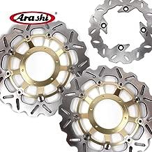 Arashi Front Rear Brake Disc Rotors for HONDA CBR600RR 2003-2015 Motorcycle Replacement Accessories CBR 600 RR CBR600 600RR 2010 2011 2012 2013 2014 Gold CBR1000RR 04-05