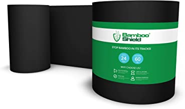 Bamboo Shield - 50 feet Long x 24 inch x 60 mil - Bamboo Root Barrier/Water Barrier