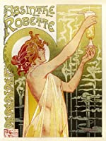 【広告】アブサン・ロベット 広告ポスター アートプリントポスター ADVERT ABSINTHE ROBETTE BELGIUM CLASSIC FOOD DRINK 776PYLV