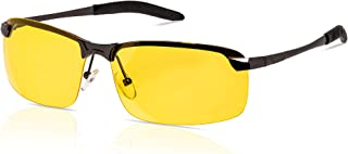 The Original Night Driving Glasses - Anti-Glare, TAC Polarized, HD Night Vision, Clarity Lenses, Safety Glasses