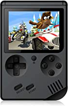 Handheld Games Console for Kids Adults - Retro Video Games Consoles 3 inch Screen 168 Classic Games 8 Bit Game Player with...