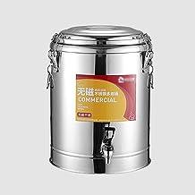 Isolatievat, roestvrij staal wateropslag vat/soep vat/verzegelde transporttank, brouwvat met kraan, voor melk thee water m...