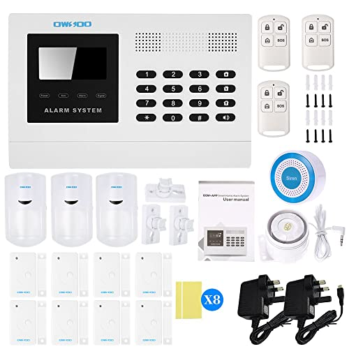 Best Wired Security System | Wired Alarm System Amazon Co Uk