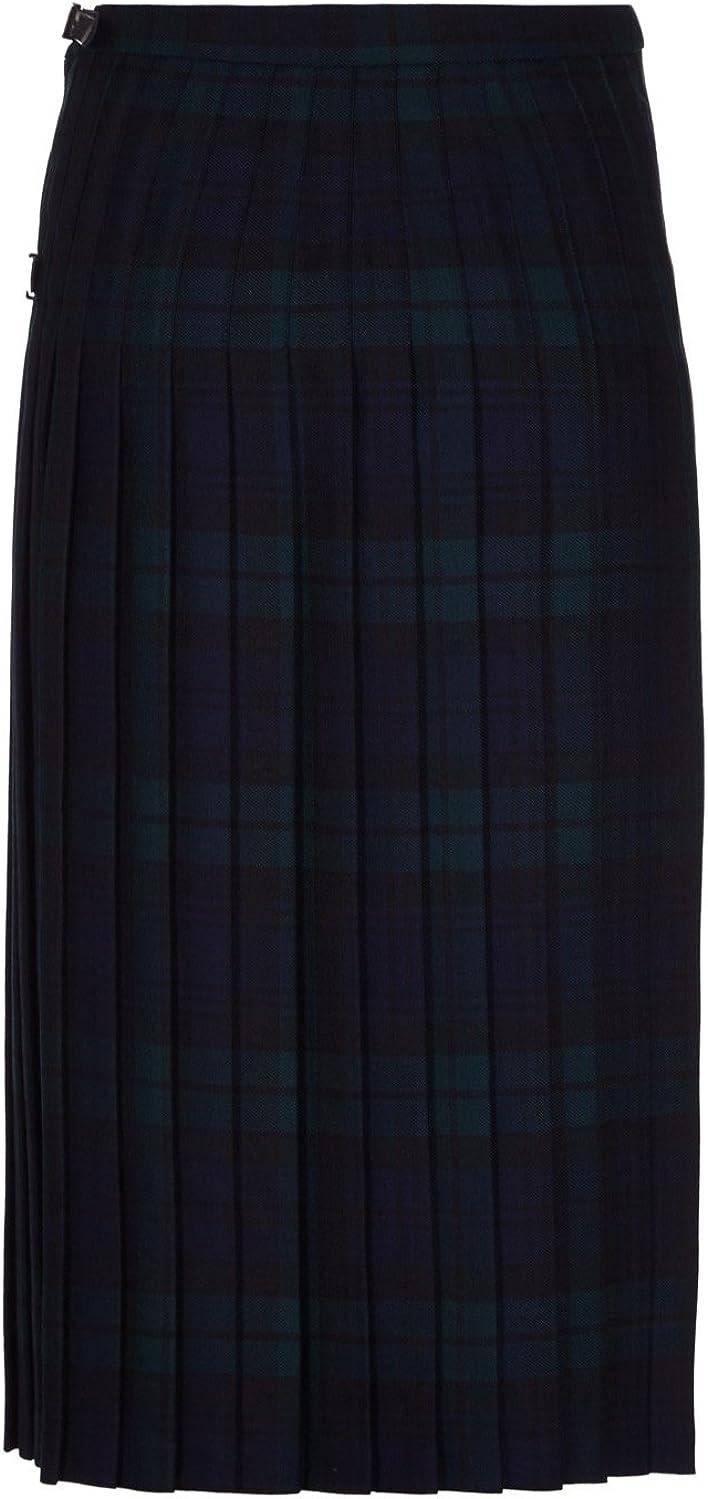 Oxfords 100/% Lana Kilt per Donna